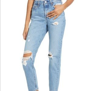 NWT Levi's Wedgie High Rise Straight Jeans